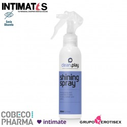 Shining Spray · Abrillantador cuero y látex · Cobeco CleanPlay