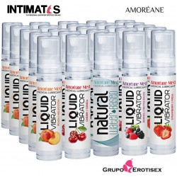 Vibrador liquido · Cherry / Cereza 10ml · Amoreáme