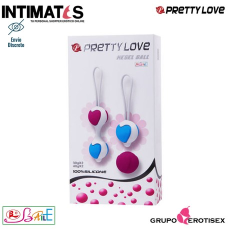 """Kegel Ball Luxe · Pretty Love, que puedes adquirir en intimates.es """"Tu Personal Shopper Erótico Online"""""""