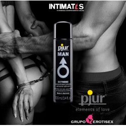 Pjur Man Premium 100 ml. · Lubricante base silicona · Pjur