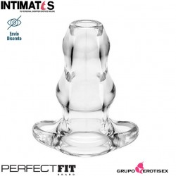 Double Tunnel Plug Clear XL · Perfect Fit