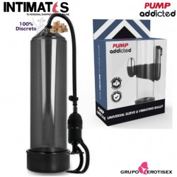 Power Pump RX 5 - Black · Bomba de succión con vibración · Pumped addicted