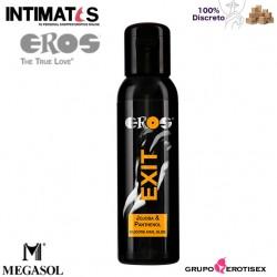 Exit Jojoba & Panthenol 100 ml · Lubricante anal con base de silicona · Eros