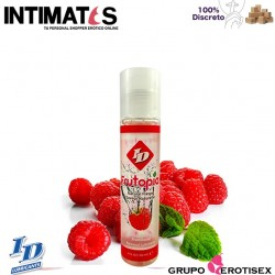 Frutopia Frambuesa 30ml · Con sabor natural endulzado · ID Lubricants