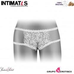 Emma · Bragas blancas abiertas · Fashion Secret