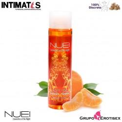 Hot Oil Mandarina · Aceite efecto calor 100 ml · Nuei