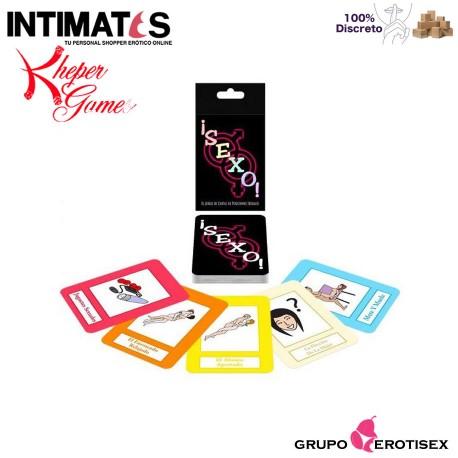 """Sexo! · Juego de cartas con posturas · Kheper Games, que puedes adquirir en intimates.es """"Tu Personal Shopper Erótico Online"""""""