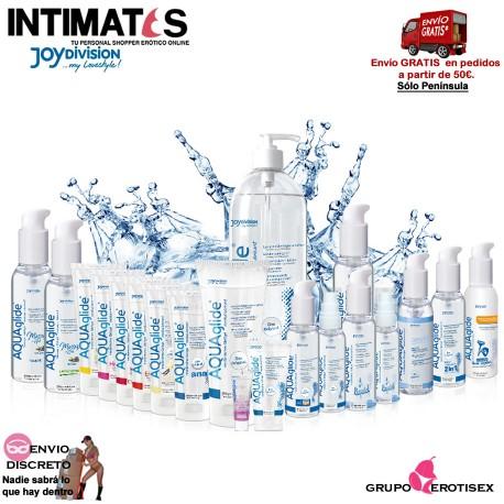 """AQUAglide 200 ml · Lubricante base agua · Joydivision, que puedes adquirir en intimates.es """"Tu Personal Shopper Erótico Online"""""""