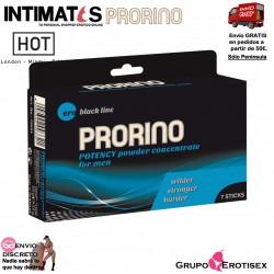 Potency powder concentrate for men 7 sobres · Prorino
