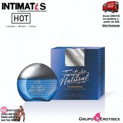 Twilight Natural · Spray libre de fragancia con feromonas para hombre · Hot