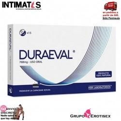 Duraeval 15cap. · Ayuda a mejorar las relaciones de pareja · Natural Vita
