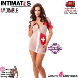 No. 1032 · Vestido de enfermera con cremallera · Amorable de Rimba