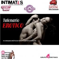 Talonario erótico · 12 cheques eróticos para tu mayor diversión · Diverty Sex
