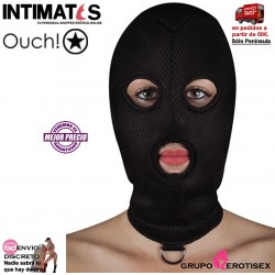 Extreme Mesh Balaclave · Máscara con orifico en boca y ojos y anillo · Ouch!