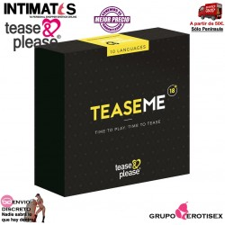 TeaseMe · Juego de bondage para parejas · Tease&Please