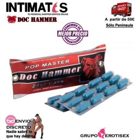 Doc Hammer Pop Master 24 cápsulas · Ayuda a mejorar las relaciones de pareja