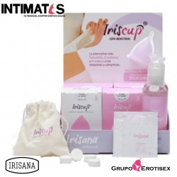 Iriscup S · Copa menstrual rosa · Irisana