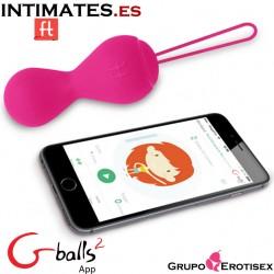 Gballs² App - Pink · Primer entrenador de sex fitness · Funtoys