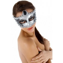 Nozze Di Figaro · Máscara plata y negro · Venetian Mask