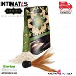 Honey Dust · Polvo corporal besable - Madreselva · Kamasutra