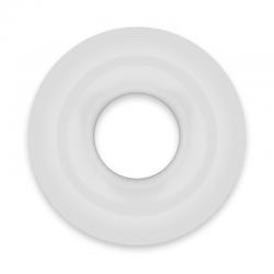 POWERING SUPER FLEXIBLE Y RESISTENTE ANILLO PENE 4.5CM CLEAR