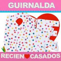GUIRNALDA RECIEN ♥ CASADOS