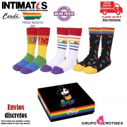 Pack calcetines 3 piezas 35-41 · Disney Pride