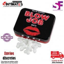 Blow Job Mints · Caramelos menta · Spencer & Fleetwood