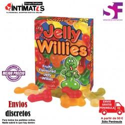 Jelly Willies · Penes de gelatina · Spencer & Fleetwood