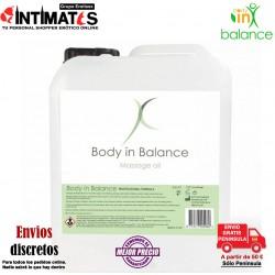 Massage Oil 5L · Aceite de cuidado íntimo · Body in Balance