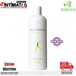 Massage Oil 500ml · Aceite de cuidado íntimo · Body in Balance