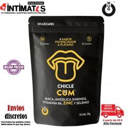 WUG Cum · Mejora la producción de espermatozoides -10 chicles · Functional Gums