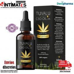 Tuvalu 10% · Aceite de cáñamo full spectrum CBD 10ml · Denipharma