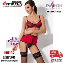 Sandra · Conjunto rojo de tres piezas · Passion