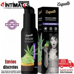Space Sativa · Lubricante sabor a muffins de marihuana 100ml · Coquette