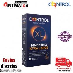 Finissimo XL · 12 Preservativos · Control