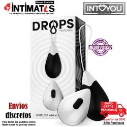 Drops · Huevo vibrador control remoto - Negro · Action