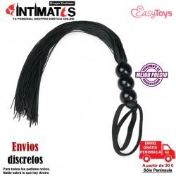 Silicone Whip · Látigo negro de silicona · EasyToys