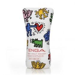 Keith Haring Soft Tube CUP · Tenga