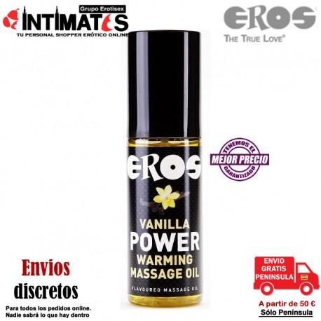 Vanilla Power Warming · Aceite de masaje · Eros