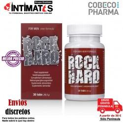 Rock Hard 30 cap · Favorece la erección · Cobeco