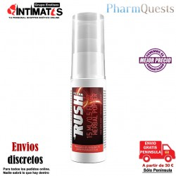 Extra Rush Herbal Popper 15 ml · Aumenta el deseo y relaja el cuerpo · Pharmquest