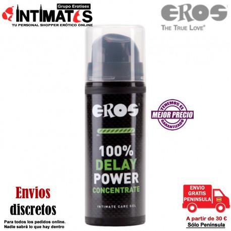 Delay Power Concentrate 30 ml · Gel retardante· Eros