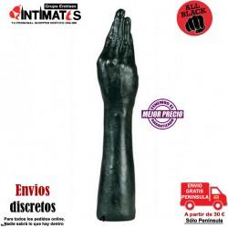 Buttplug con la forma de un puño gigante 37cm · All Black