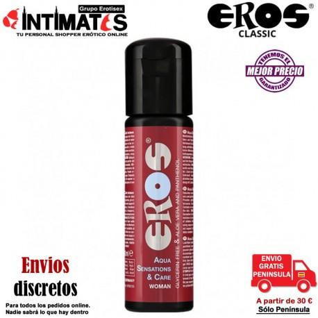 Sensations & Care ♀ · Lubricante acuoso 30 ml · Eros