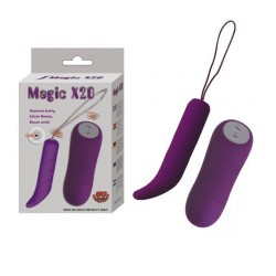 MAGIC X 20 CONTROL REMOTO  FUNCIONES LILA