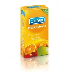 DUREX PLEASURE FRUITS 12 UNIDADES