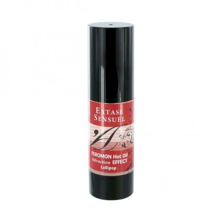 Hot Oil Feromon · Piruleta 30 ml · Extase Sensuel