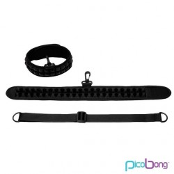 PICOBONG SPEAK NO EVIL CHOKER BLACK