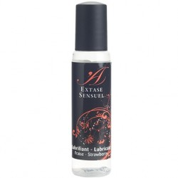 Fresa 35 ml · Lubricante ultra sedoso · Extase Sensuel